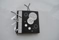 Mini album déco noir et blanc