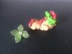 Bébé fimo fushia et vert