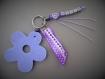 Porte clés personnalisé pour une mamie avec 1 prénom
