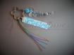 Porte clés papillon personnalisé avec message ou prénom