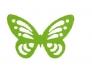 Découpes « fleurs et papillons » ((die cuts))