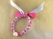 "Kit créatif bracelet de noeuds ""coeur d'ange"""