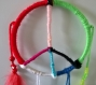Attrape rêves / dream catcher peace and love multicolore