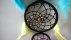 Attrape rêves / dream catcher colorés 3 anneaux