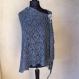 Châle élégant tricote main