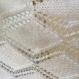Etole tricote main blanc- noir
