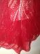Grande poncho rouge ( promotion de noël - 10 euro )