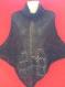 Poncho grophite tricote main (promotion de noël -15 euro)