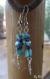 Boucles d'oreilles turquoise et sodalite