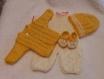 Vêtements poupon fait main(vendu sans le poupon)
