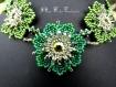 Collier bérénice en perles et cristal de swarovski