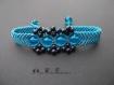 Bracelet micro macramé et perles1