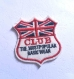 Applique patch écusson thermocollant drapeau britanique club 60*65mm