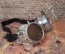 Goggles - lunettes steampunk avec loupes metallic steam