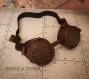 Goggles - lunettes steampunk rats et bois