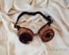 Goggles - lunettes steampunk bois et octopus