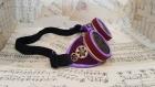 Goggles - lunettes steampunk violettes et or