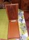 Coffret ou boîte à bijoux ou autre, en bois de placage d 'angélique (amérique du sud) et marqueterie (ancienne) composée d'acajou sapelli et de divers