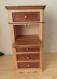 Meuble chiffonnier 4 tiroirs +2 faux tiroirs en bois et bois de placage de grisard