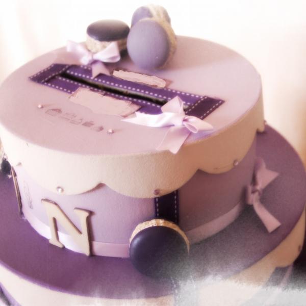 Urne Gâteau 3 étages Personnalisable Maison Et Deco