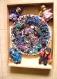 Mosaïque (2) un tableau réalisé avec de la vaisselle cassée-6.5/5/5cm