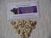 Breloques en métal breloque bijoux papillon - métal doré