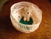 Porte-clés en crochet animaux-oursons