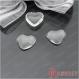10 gemmes de verre en forme de coeur-patch 18 * 17mm h22216