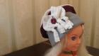 Béret polaire pour fille -collection hiver -- pièce unique