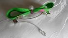 Barrette en métal 5 cm avec nœud papillon - pièce unique