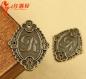 10 breloques en bronze30mm * 23mm, plaques -c, a1139