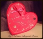 Carte st valentin amour coeur rouge