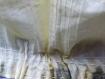Blouse imprimée façon tie-dye et dentelle