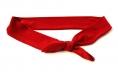 Bandeau cheveux bébé à noeud rouge