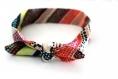 Bandeau cheveux bébé à noeud multicolore