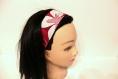 Bandeau cheveux femme rose fuchsia
