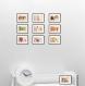 Jeu de 10 cartes postales série n°1 - format 10,5x15 cm, set de cartes postales, décoration cuisine, carte postale,