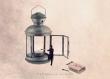 L'allumeur de lanterne - 13x18 cm - photographie d'art, décor de chambre d'enfant, photo moderne, pour les enfants, conte de fées,