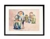 Le découpeur de matriochka-13x18 cm-photographie d'art, cadeau original, matrioshka, poupée russe, poupée gigogne, photographie d'art, bleu pastel,