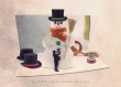 Le styliste de bonhomme de neige - 13x18 cm - photographie d'art