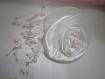 Peigne coiffe mariage, grosse fleur en satin blanc