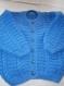 Gilet/cardigan bleu fille taille 4 ans