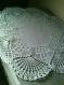 Napperon octogonale crochet couleur blanc ( sur commande)