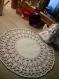 Napperon zweigart shabby crochet blanc
