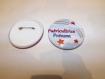 Badge puéricultrice à personnaliser 5,8 cm de diamètre, ton multicolore
