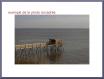 30x45 cabane de pêcheur - port des barques - gironde - charente maritime