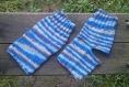 Chaussettes bleus mélange sans talon