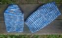 Les chaussettes bleus mélange élastiques