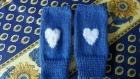 """Mitaines """"blue love"""""""