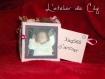 Cube photo cadeau naissance personnalisé